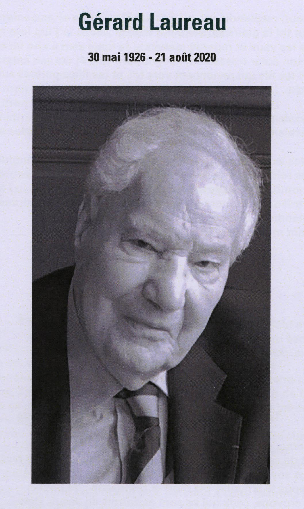 Gérard Laureau
