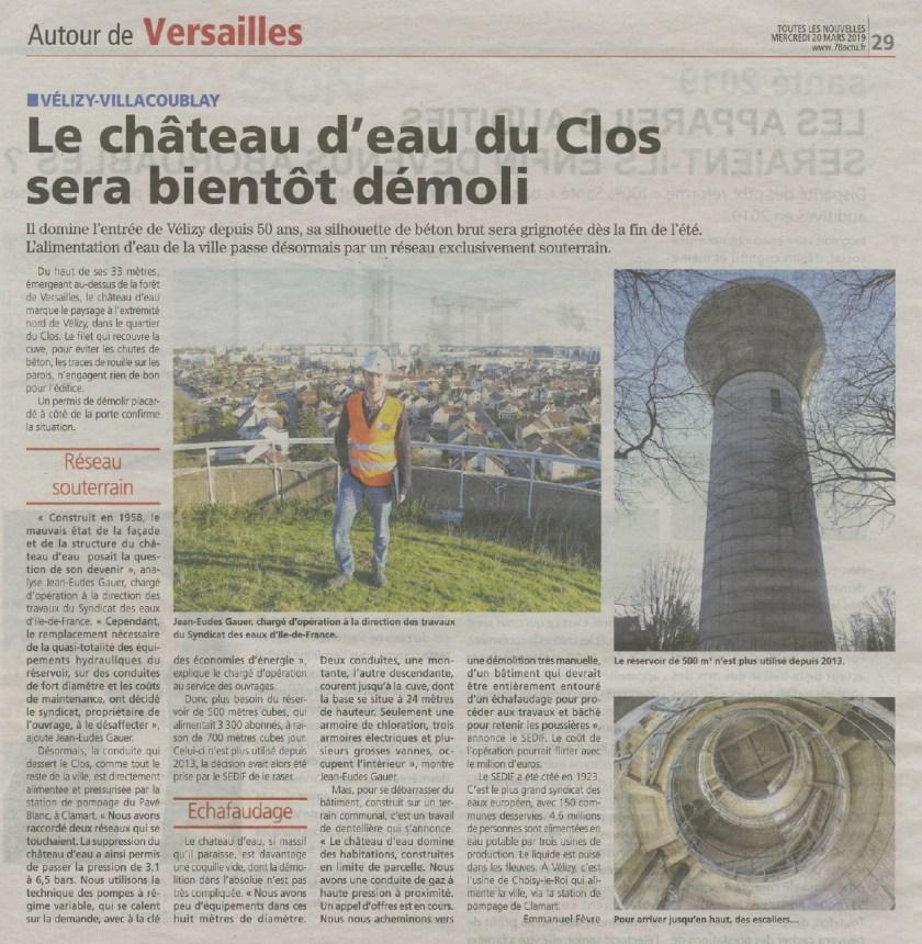 Article TLN château d'eau Vélizy